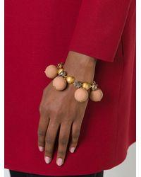 Marni | Brown Sphere Bracelet | Lyst