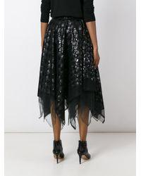 Marc Le Bihan - Black Sequined Skirt - Lyst