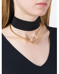 Lara Bohinc - Metallic 'planetaria' Choker Necklace - Lyst