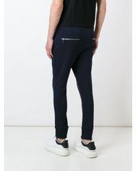 Neil Barrett - Blue Tapered Track Pants for Men - Lyst