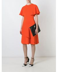 Givenchy - Multicolor Ruffle Panelled Cocktail Dress - Lyst