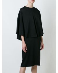 Givenchy - Black Layered Panel Dress - Lyst