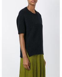 Christian Wijnants - Blue Kofi Wool-Blend Jumper - Lyst