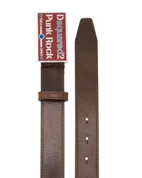 DSquared² - Brown Punk Rock Buckle Belt for Men - Lyst