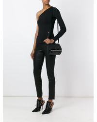 Givenchy - Black Mini Pandora Box Leather Shoulder Bag - Lyst
