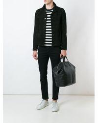Saint Laurent - Black Classic Collar Jacket for Men - Lyst