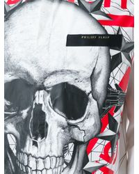 Philipp Plein - White 'danger' Shirt for Men - Lyst