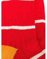 Paul Smith - Brown Striped Socks for Men - Lyst