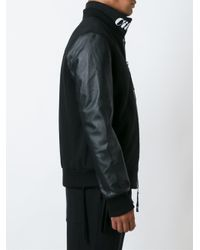 Blood Brother - Black 'alpha' Bomber Jacket for Men - Lyst