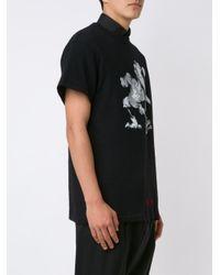 Off-White c/o Virgil Abloh - Black Bird Print T-shirt for Men - Lyst