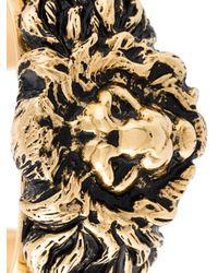 Saint Laurent - Metallic Lion Cuff - Lyst