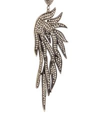 Carole Shashona - Black 'fire Wing' Diamond Earrings - Lyst