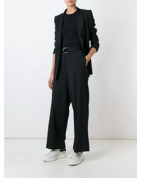 Hache - Black Belted Trousers - Lyst