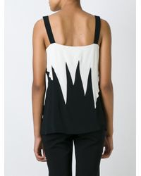 Fausto Puglisi - White Buckled Strap Top - Lyst