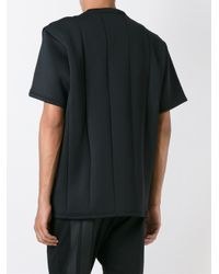 Y-3 Black 'space Crew' T-shirt for men
