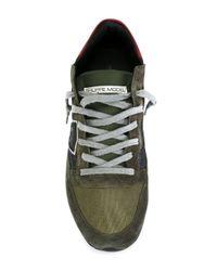 Philippe Model - Green 'tropez' Sneakers for Men - Lyst
