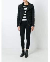 Moncler | Black 'antigone' Padded Jacket | Lyst