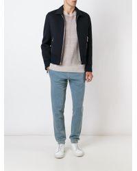 Maison Margiela - Blue Denim Effect Track Pants for Men - Lyst