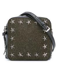 Jimmy Choo - Black Sunny Leather Cross-Body Bag - Lyst