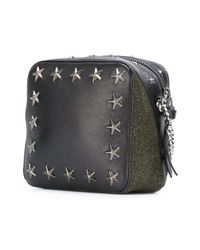 Jimmy Choo - Black Sunny Leather Cross-Body Bag - Lyst