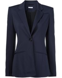 Altuzarra | Blue One Button Blazer | Lyst