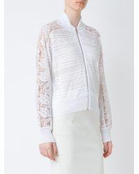 Cecilia Prado - White - Knitted Jacket - Women - Acrylic/polyester/viscose - P - Lyst