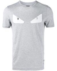 Fendi | Gray Bag Bugs T-shirt for Men | Lyst