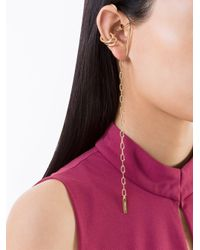 Ambush - Metallic 'amber' Chain Ear Cuff - Lyst