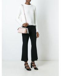 79a4279f0ec3 Lyst - Fendi Mini By The Way Crossbody Bag in Natural