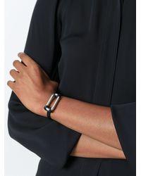 Isabel Marant - Metallic Dual Material Bracelet - Lyst