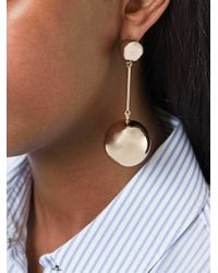 J.W.Anderson - Metallic Disco Ball Earrings - Lyst