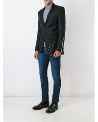 Dolce & Gabbana - Black Crown Print Clutch for Men - Lyst