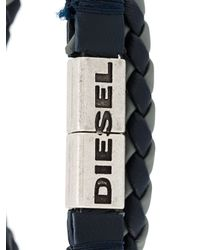 DIESEL | Black 'alucy' Bracelet for Men | Lyst