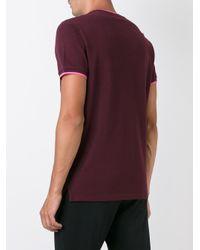 KENZO - Purple 'mini Tiger' Pocket T-shirt for Men - Lyst