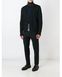 Stephan Schneider - Black Straight Trousers for Men - Lyst