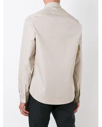 Maison Margiela - Blue Classic Long Sleeve Shirt for Men - Lyst