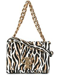 Emilio Pucci | Multicolor - Chain Strap Shoulder Bag - Women - Leather/calf Hair - One Size | Lyst