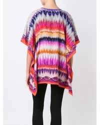 Trina Turk - Multicolor Embroidered Kaftan - Lyst
