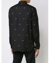 Neil Barrett - Black Wtf Shirt for Men - Lyst