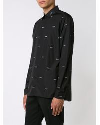 Neil Barrett - Black Wtf Shirt for Men - Lyst