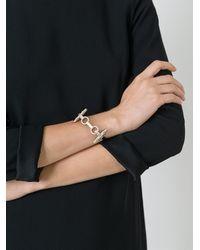 Givenchy | Metallic 'obsedia' Cuff | Lyst