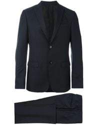 Z Zegna | Blue Single Breasted Two Piece Suit for Men | Lyst