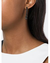 Iosselliani - 'black On Black Memento' Earrings - Lyst