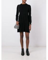 Twin Set - Multicolor Long-sleeve Jumper Dress - Lyst