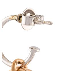 Charlotte Chesnais - Metallic Horn Earrings - Lyst