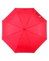 Moschino - Red Toy Bear Handle Umbrella - Lyst