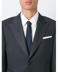 Ermenegildo Zegna | Blue Tweed Effect Neck Tie for Men | Lyst