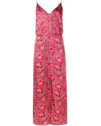 Zimmermann | Pink Floral Cami Dress | Lyst