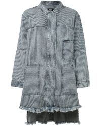 House of Holland | Blue 'hoh X Lee Collaboration' Coat | Lyst