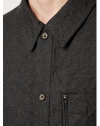 Moohong | Gray Long Fit Shirt for Men | Lyst